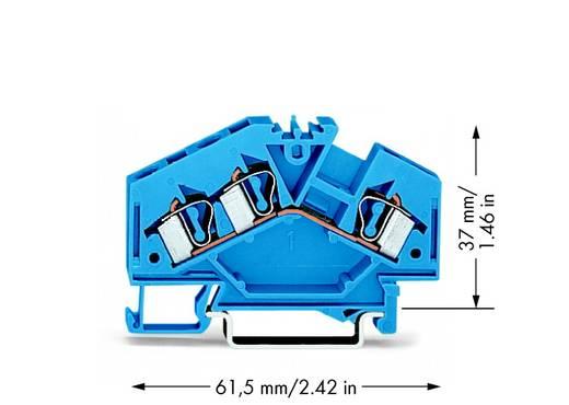 Durchgangsklemme 6 mm Zugfeder Belegung: N Blau WAGO 281-651 100 St.