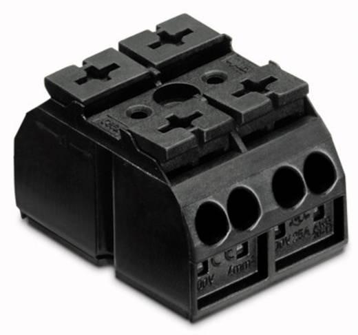 Geräteanschlussklemme Federklemme Schwarz WAGO 862-532 500 St.