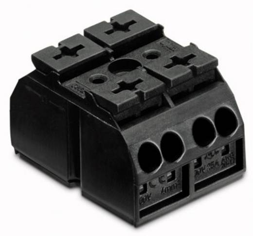 Geräteanschlussklemme Federklemme Schwarz WAGO 862-562 500 St.