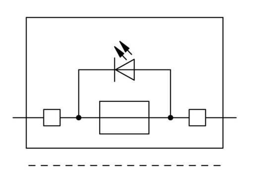 Sicherungsklemme 6.20 mm Zugfeder Belegung: L Grau WAGO 2002-1811/1000-542 50 St.