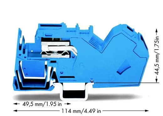 Trennklemme 16 mm Zugfeder Belegung: N Blau WAGO 785-613 15 St.