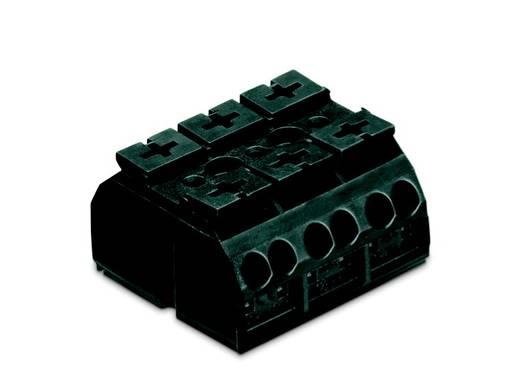 Geräteanschlussklemme Federklemme Schwarz WAGO 862-503 250 St.