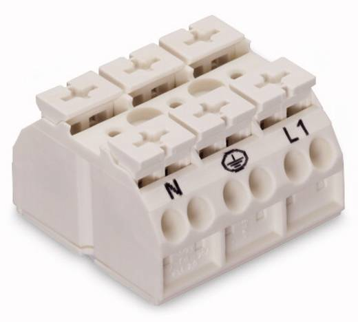 Geräteanschlussklemme Federklemme Weiß WAGO 862-2603 250 St.