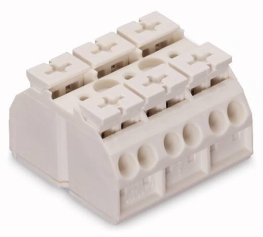 Geräteanschlussklemme Federklemme Weiß WAGO 862-603 250 St.