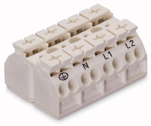 Geräteanschlussklemme Federklemme Weiß WAGO 862-1604 200 St.