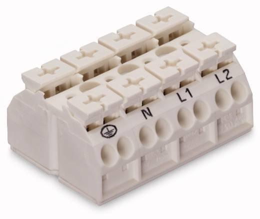 Geräteanschlussklemme Federklemme Weiß WAGO 862-1694/999-950 200 St.