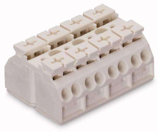 Geräteanschlussklemme Federklemme Weiß WAGO 862-634 200 St.