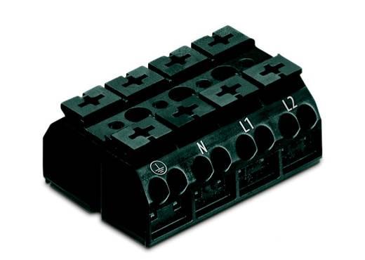Geräteanschlussklemme Federklemme Schwarz WAGO 862-1504 200 St.