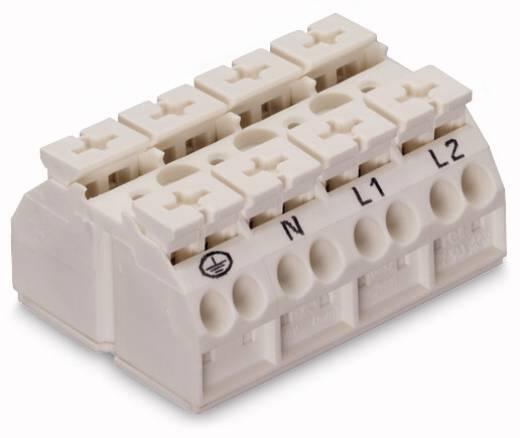 Geräteanschlussklemme Federklemme Weiß WAGO 862-1634 200 St.