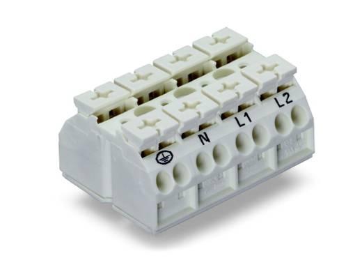 Geräteanschlussklemme Federklemme Weiß WAGO 862-9694 200 St.