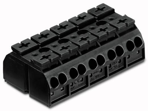 Geräteanschlussklemme Federklemme Schwarz WAGO 862-505 200 St.