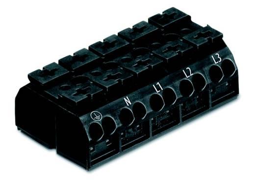 Geräteanschlussklemme Federklemme Schwarz WAGO 862-1505/999-950 200 St.