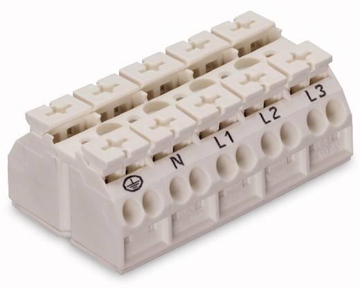 Geräteanschlussklemme Federklemme Weiß WAGO 862-9605 200 St.