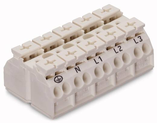 Geräteanschlussklemme Federklemme Weiß WAGO 862-1615/999-950 200 St.