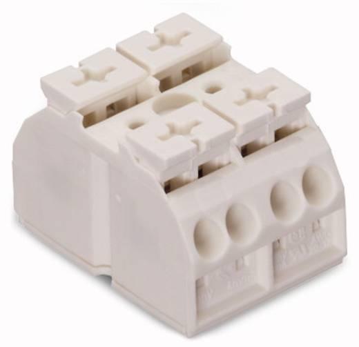 Geräteanschlussklemme Federklemme Weiß WAGO 862-632 500 St.