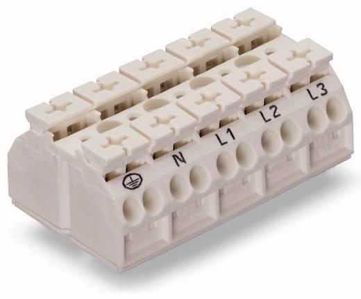 Geräteanschlussklemme Federklemme Weiß WAGO 862-9615 200 St.