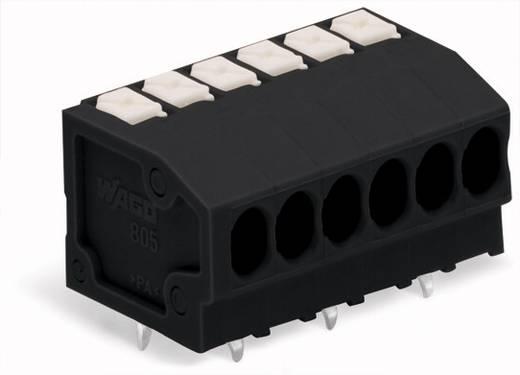 Federkraftklemmblock 1.50 mm² Polzahl 8 805-308/200-604 WAGO Schwarz 160 St.