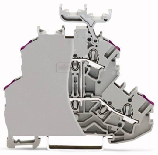 Doppelstock-Durchgangsklemme 6.20 mm Zugfeder Belegung: L Grau WAGO 2002-2208/099-000 50 St.