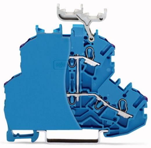 Doppelstock-Durchgangsklemme 6.20 mm Zugfeder Belegung: N Blau WAGO 2002-2209/099-000 50 St.