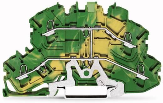Doppelstock-Schutzleiterklemme 5.20 mm Zugfeder Belegung: PE Grün-Gelb WAGO 2002-2607 50 St.