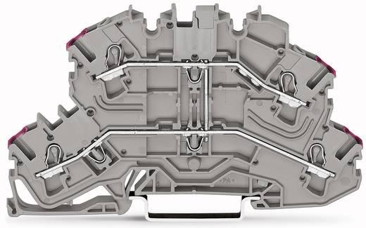 Doppelstock-Durchgangsklemme 5.20 mm Zugfeder Belegung: L Grau WAGO 2002-2608 50 St.