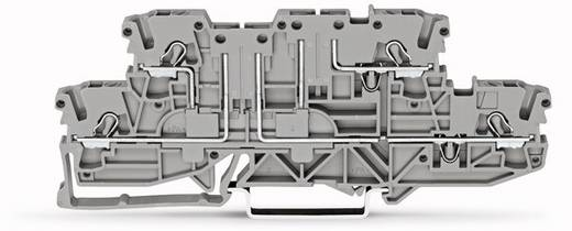 Doppelstock-Basisklemme 5.20 mm Zugfeder Belegung: L, L Grau WAGO 2002-2961 50 St.