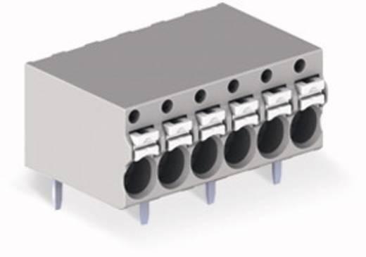 Federkraftklemmblock 1 mm² Polzahl 8 WAGO Grau 90 St.