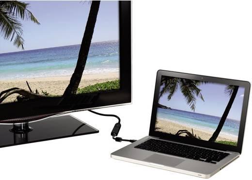 DisplayPort / HDMI Adapter [1x Mini-DisplayPort Stecker - 1x HDMI-Buchse] Schwarz Hama