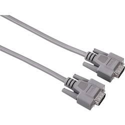 VGA prepojovací kábel Hama 00042089, 1.80 m, sivá
