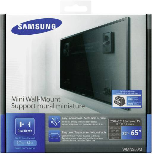 samsung wmn350m mini tv wandhalterung kaufen. Black Bedroom Furniture Sets. Home Design Ideas