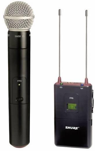 Hand Kamera-Mikrofon Shure FP25/SM58-S6 Übertragungsart:Funk inkl. Kabel