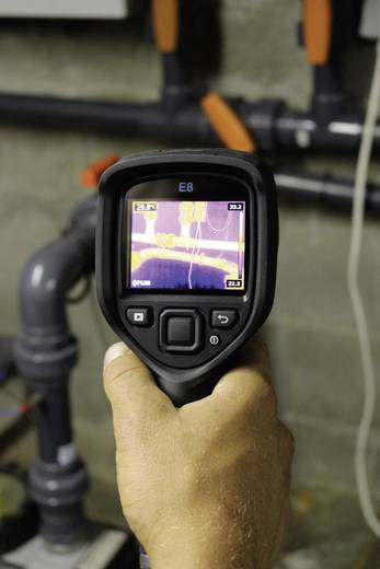 FLIR E8 Wärmebildkamera -20 bis +250 °C 320 x 240 Pixel 9 Hz Kalibriert nach DAkkS