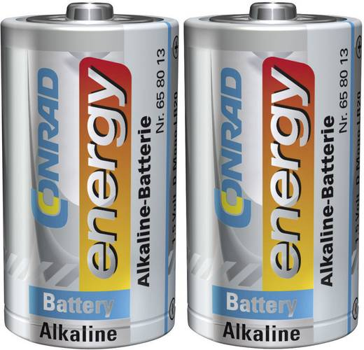 Passende Batterie, Typ Mono (D), bitte 4x bestellen