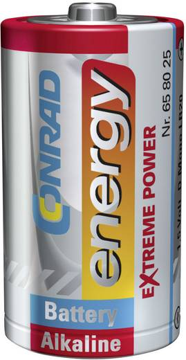 Mono (D)-Batterie Alkali-Mangan Conrad energy Extreme Power LR20 1.5 V 2 St.
