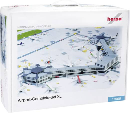 Luftfahrzeug 1:500 Herpa Airport Complete Set XL 520997