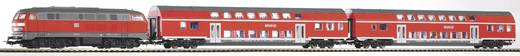 Piko H0 57150 H0 Start-Set Diesellok BR 218 mit Doppelstockzug der DB AG