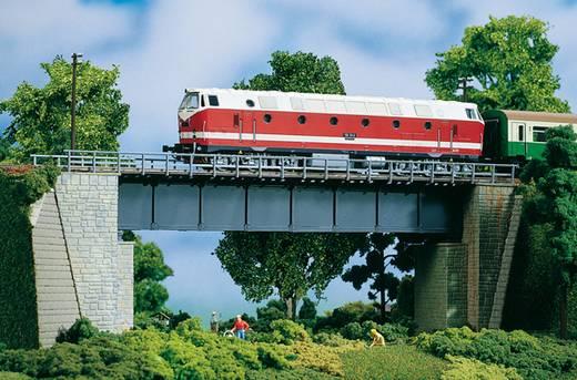 H0 Stahlbrücke 1gleisig Universell (L x B x H) 327 x 65 x 110 mm Auhagen 11341