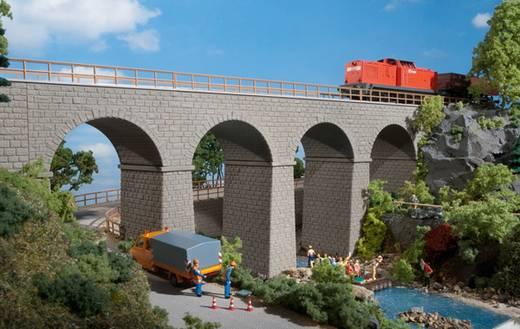 H0 Eisenbahnbrücke 1gleisig Universell (L x B x H) 410 x 65 x 165 mm Auhagen 11344