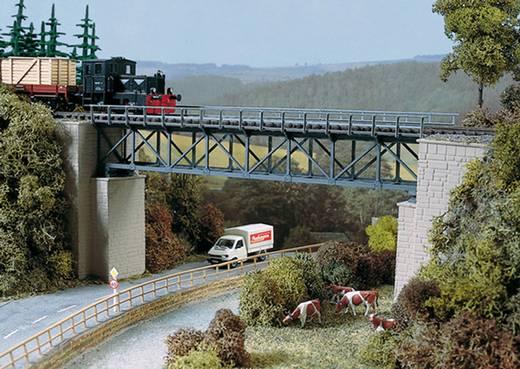 H0 Fachwerkbrücke 1gleisig Universell (L x B x H) 327 x 65 x 110 mm Auhagen 11364