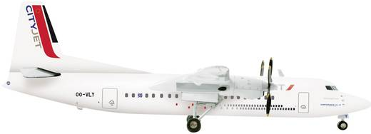 Luftfahrzeug 1:200 Herpa CityJet Fokker 50  554640