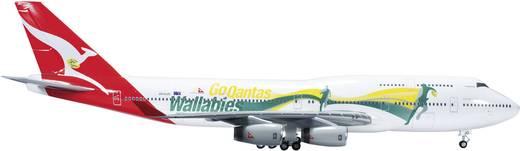 "Luftfahrzeug 1:200 Herpa Qantas Boeing 747-400 ""Go Wallabies""  554664"