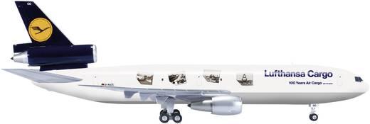 "Luftfahrzeug 1:200 Herpa Lufthansa Cargo McDonnell Douglas MD-11F ""100 Years Air Cargo"" 554886"