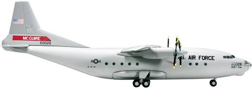 "Luftfahrzeug 1:200 Herpa USAF Antonov AN-12 ""305th Airlift Wing, McGuire AB"" (Meridian Aviation) 554978"