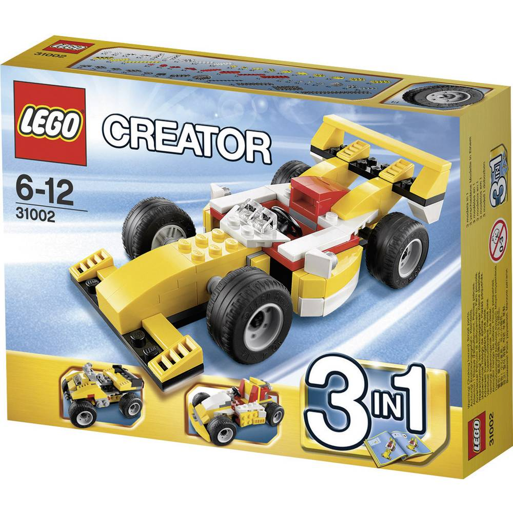 mini voiture de course lego creator 31002 6024487 sur le site internet conrad 658528. Black Bedroom Furniture Sets. Home Design Ideas