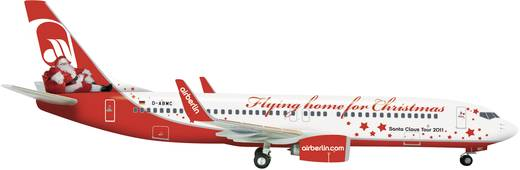 "Luftfahrzeug 1:200 Herpa Air Berlin Boeing 737-800 ""Flying home for Christmas"" 555364"