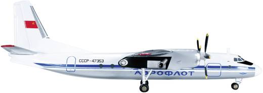 Luftfahrzeug 1:200 Herpa Aeroflot Antonov AN-24RV 555401