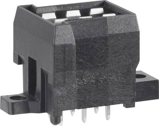 TE Connectivity 963357-6 Stiftgehäuse-Platine J-P-T Polzahl Gesamt 4 Rastermaß: 5.60 mm 1 St.