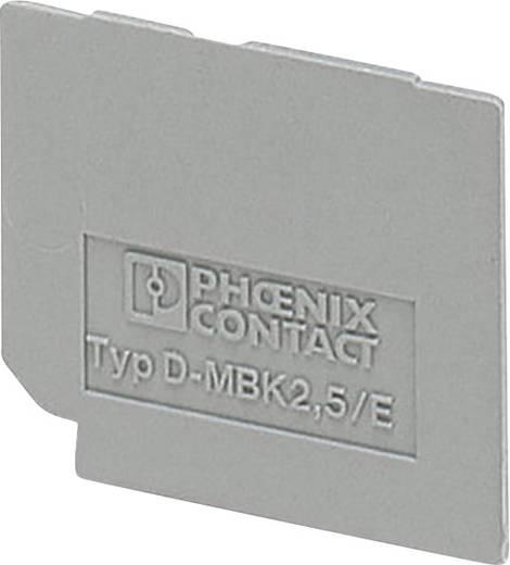 D-MBK 2,5/E - Abschlussdeckel D-MBK 2,5/E Phoenix Contact Inhalt: 1 St.