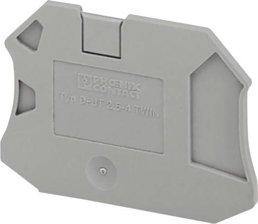 D-UT 2,5/4-TWIN - Abschlussdeckel D-UT 2,5/4-TWIN Phoenix Contact Inhalt: 1 St.