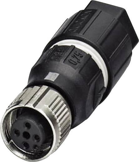Sensor-/Aktor-Steckverbinder, unkonfektioniert M12 Buchse, gerade Polzahl: 4 Phoenix Contact 1521601 SACC-FS-4QO-0,75-M